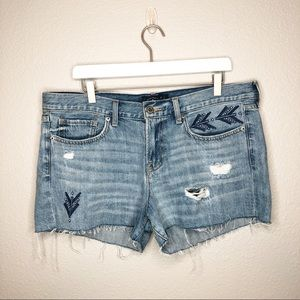 Lucky Brand The Cut Off Denim Shorts